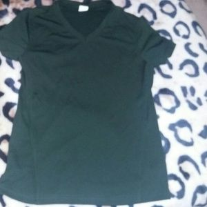 Other - Girls top stretchy green material